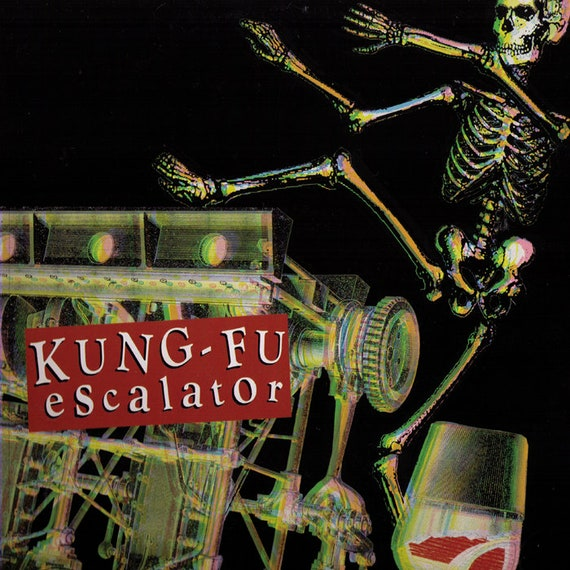 "Kung Fu Escalator - 25 cm 10"" Vinyle neuf - rare - Yakisakana Records"