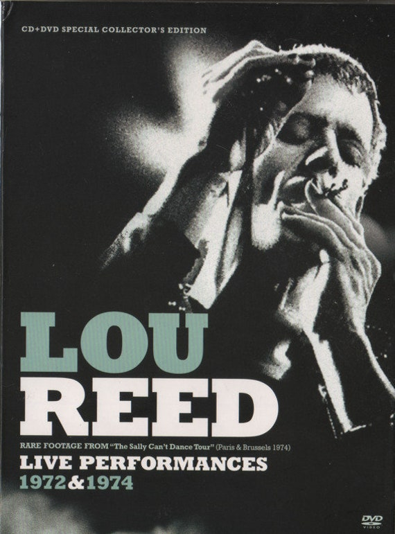 Lou Reed Live Performances 1972/1974 DVD All zone