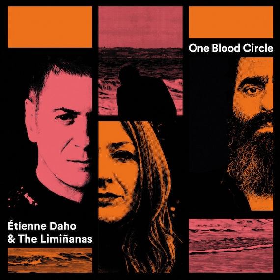 "Etienne Daho et The Limiñanas - Vinyl 7""/45T  - One blood circle Limited edition  Berreto/ Because music neuf"