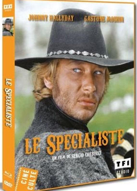 Le Specialiste- Combo DVD/Blu ray- Johnny Hallyday/Sergio Corbucci