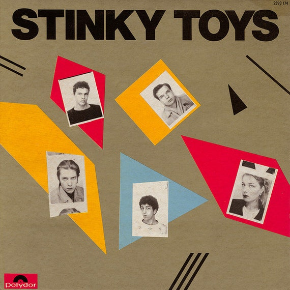 Lp Vinyl nine- STINKY TOYS- 180 Grams transparent