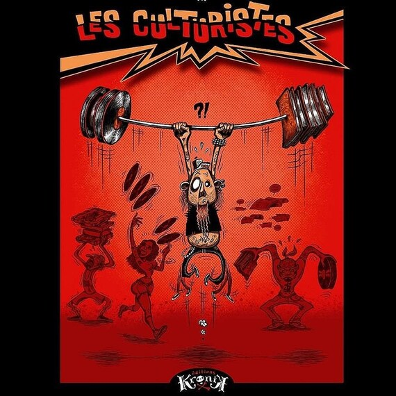 The Bodybuilders- Aurelio- BD- new
