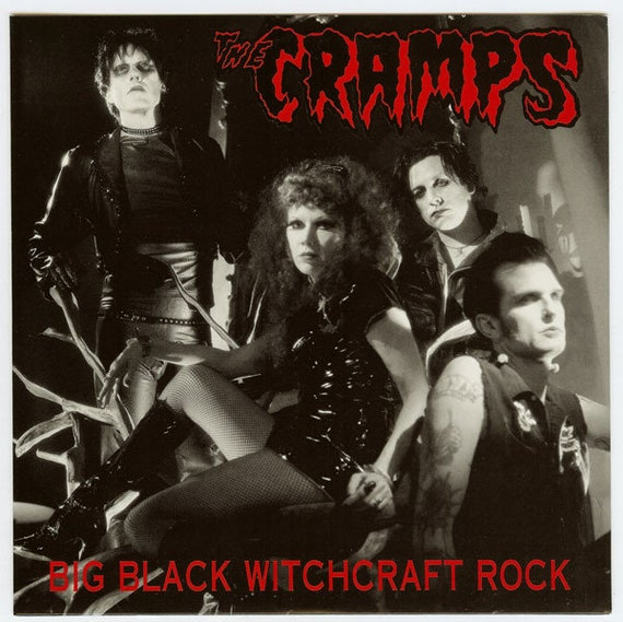 "The Cramps - Big Black Witchcraft Rock -  Vinyl 7""/45T Vengeance rds"