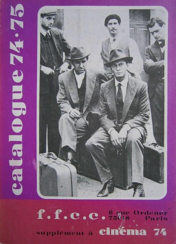Catalogue 74-75 FFCC Cinema 74 très bon état