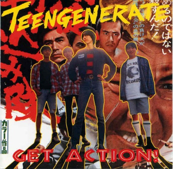 Teengenerate-Get Action LP Crypt records