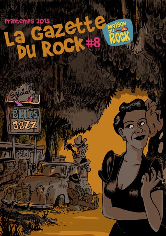 The Gazette du rock- Number 08- cover Jean bourguignon