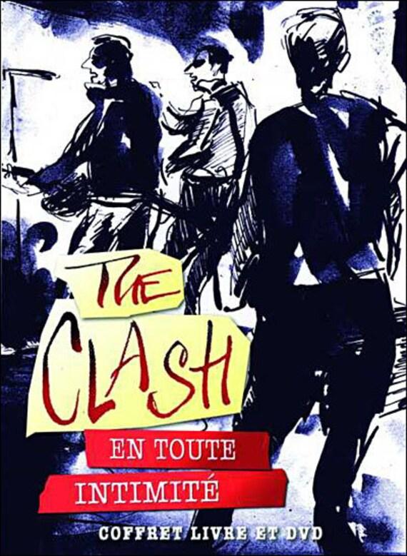 The Clash- En toute intimité- Coffret Livre et dvd-