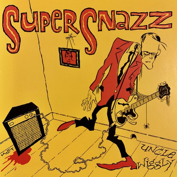 "SuperSnazz - Uncle Wiggly - Get Hip rds Black Vinyl 7""/45T"