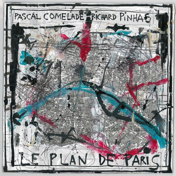 Pascal Comelade and Richard Pinhas- The Plan of Paris LP Limited edition- Staubgold