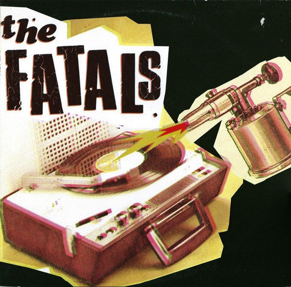 25 cm 10 'Vinyle neuf- The Fatals - rare Yakisakana Records