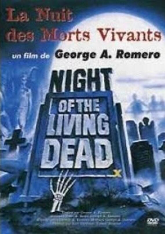 La nuit des morts vivants Georges A Romero Dvd Zone 2 - neuf