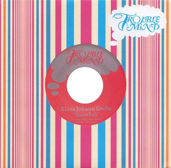 45t / 7' Klaus Johann Grobe - Dreamy Trouble in mind- Rec USA limited