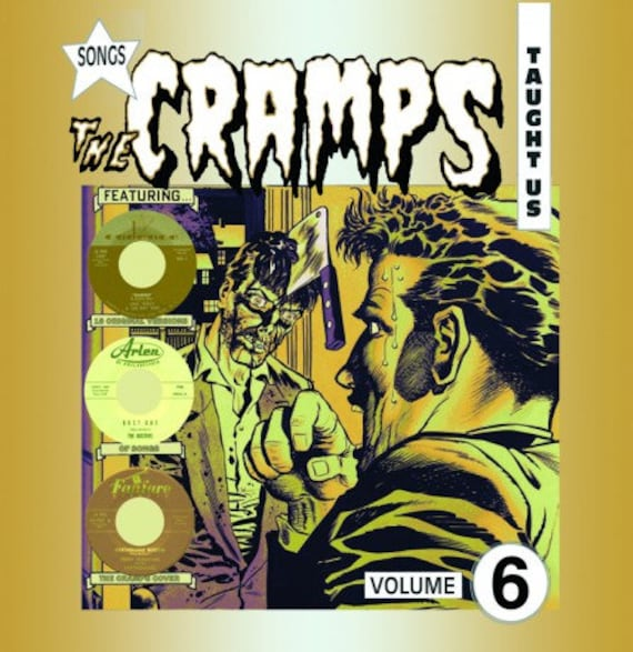 Songs the Cramps  taught us - vol 6 - Lp Vinyl