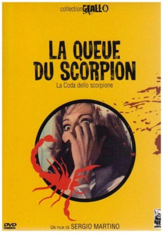 La queue du Scorpion- Collection giallo- Dvd Zone 2 - neuf