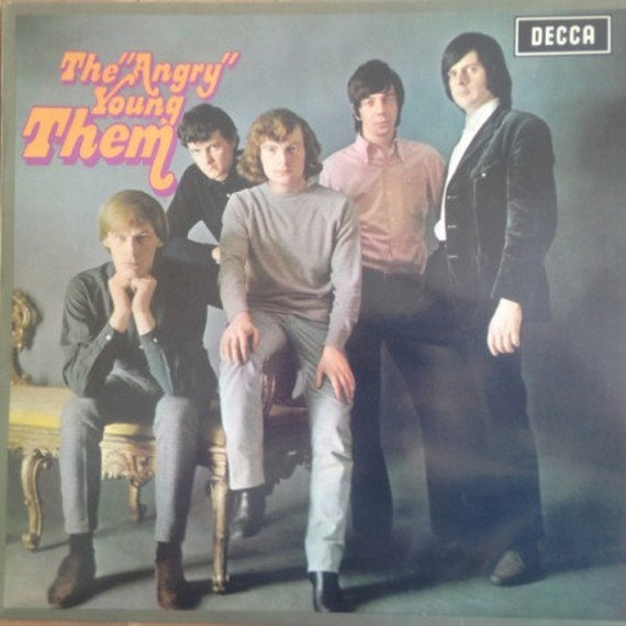 """Them- Them Album-The """"Angry"""" Young Them!LP Reedition Decca"""