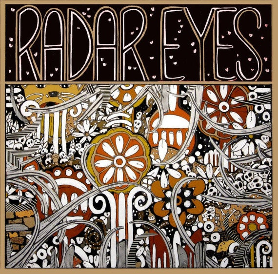 Lp Vinyl neuf- Radar Eyes- Hozac Records -