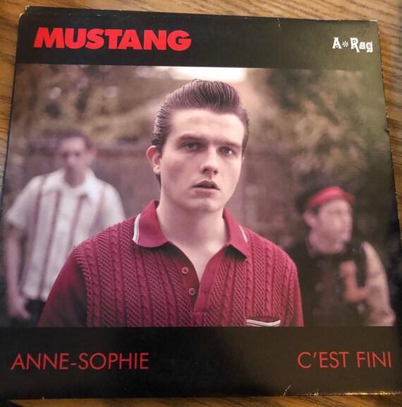 45t/7'Mustang- Anne Sophie- A Rag