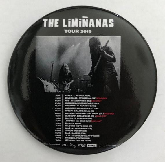 Badge- The Limiñanas tour 2019-  56 mm