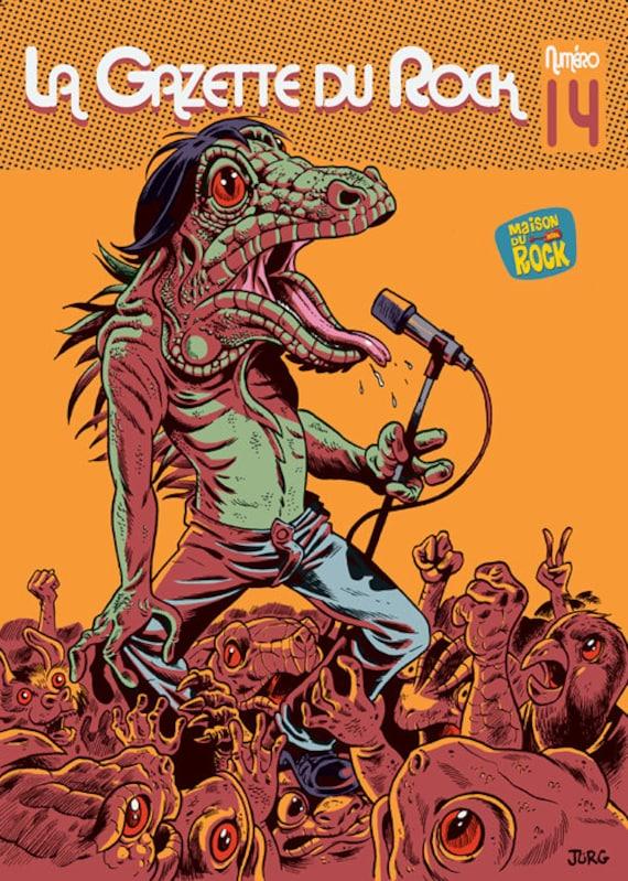 The rock gazette noumero 14-Cover of Jorg