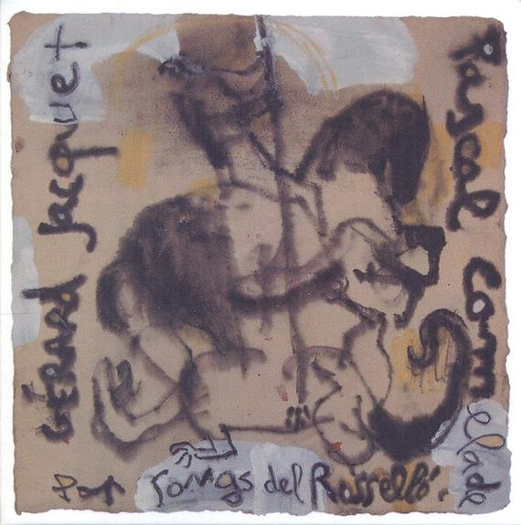 CD Gerard Jacquet y Pascal Comelade Pop songs del Rossello Col lectio Nord Vol 6