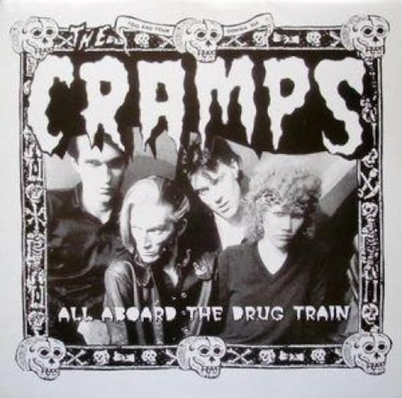 The Cramps - All Aboard The Drug Train - Lp Vinyl