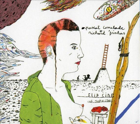 CD Pascal Comelade /Richard Pinhas Flipside (of sophism) (ed limitada)