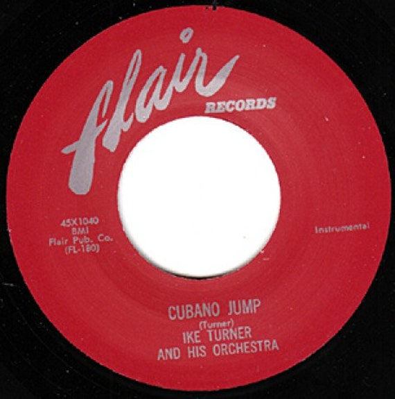 Repro RNR- 45t/7' No sleeve -Ike Turner-Cuban jump/Loosely
