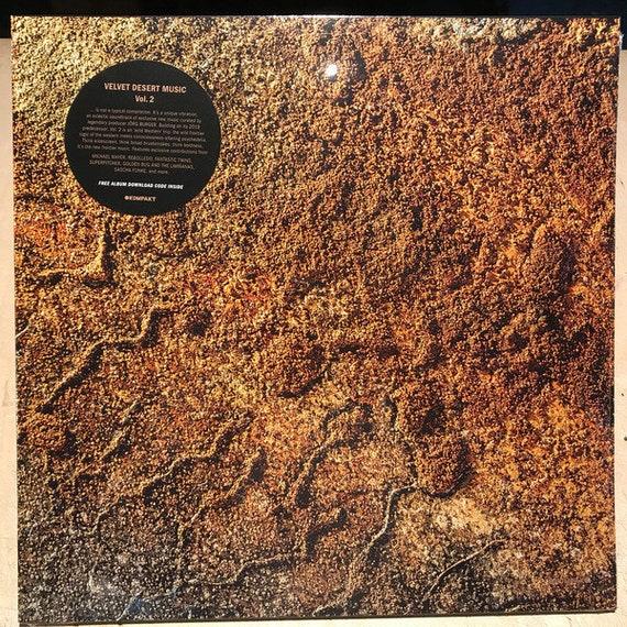 Various dble LP- Velvet desert Music vol 2- Kompakt 416 ( With one Limiñanas/Golden Bug track)