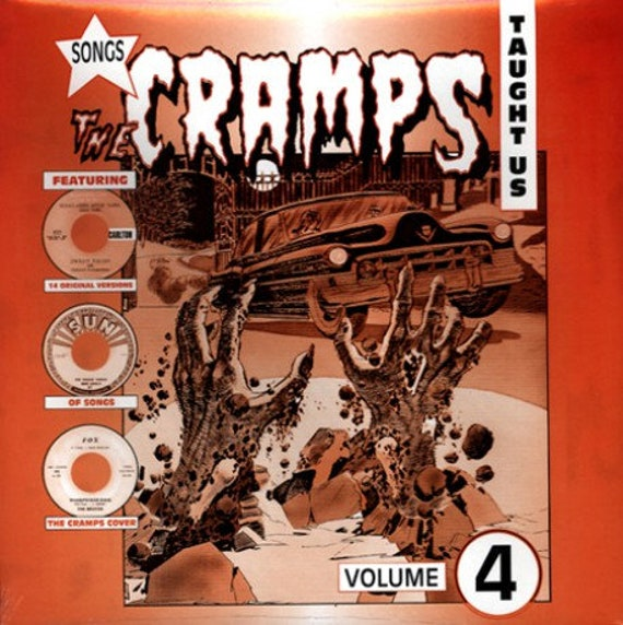 Songs the Cramps taught us - vol 4 - Lp Vinyl