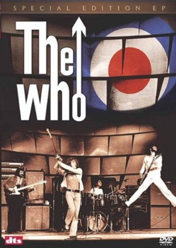 The Who- The E.P. DVD pal- Region 2