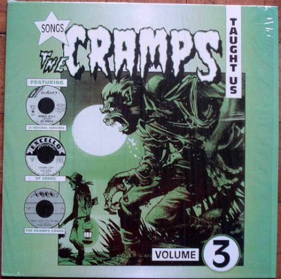 Songs the Cramps  taught us - vol 3 - Lp Vinyl