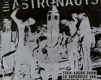 45 t 7'The Astronauts- War of the Satellites- Shotdown records- VG
