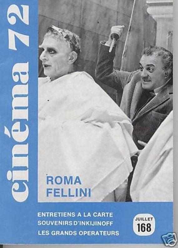 GUIDE DU Spectateur Cinema 72 NUMERO 168   Roma Fellini.Souvenir d'Inkijinoff. Les grands opérateur.