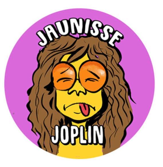 Badge-Jaunisse Joplin- 38 mm