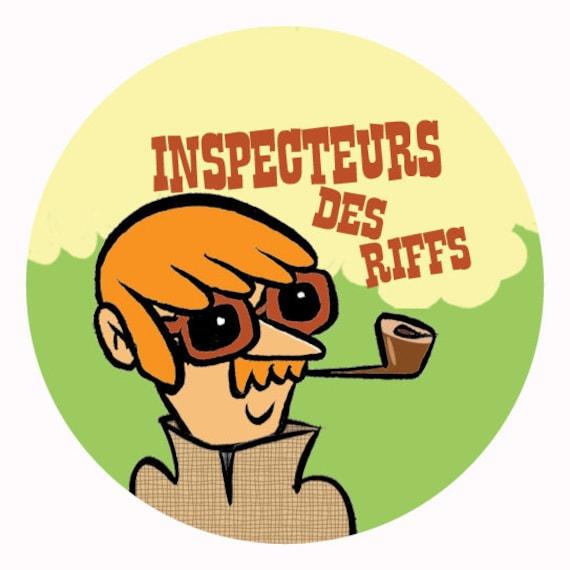 Badge-Inspectors of riffs - 38 mm