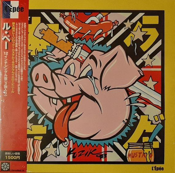 "L'Epée - Ghost Rider-LOU-Shiny shiny Maxi vinyl  12"" A recording"