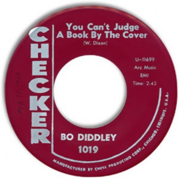 Repro RNR/RNB - 45t/7' No sleeve -Bo Diddley-You can't judge/I can tell