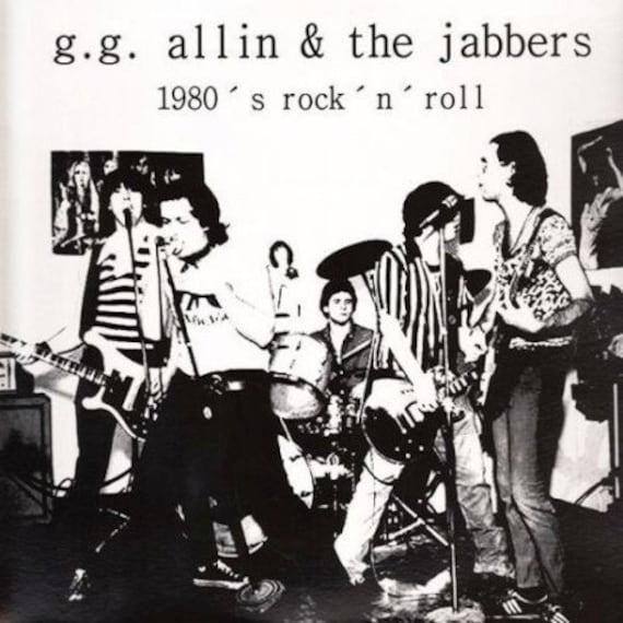 GG Allin and the Jabbers- 1980's RNR LP Vinyl
