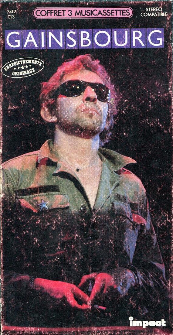 Gainsbourg – Gainsbourg (Coffret 3 Musicassettes) Label: Impact