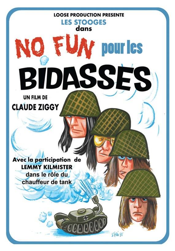 Postcard- Bidasse, a film by Claude Ziggy- By Jampur Fraize