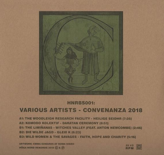 Convenanza 2018 - LP Vinyl neuf - rare V/A