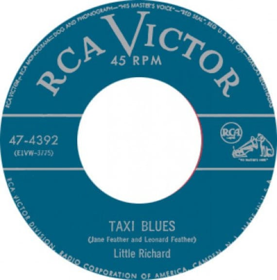 Repro RNR- 45t/7' No sleeve -Little Richard-Taxi blues/every hour