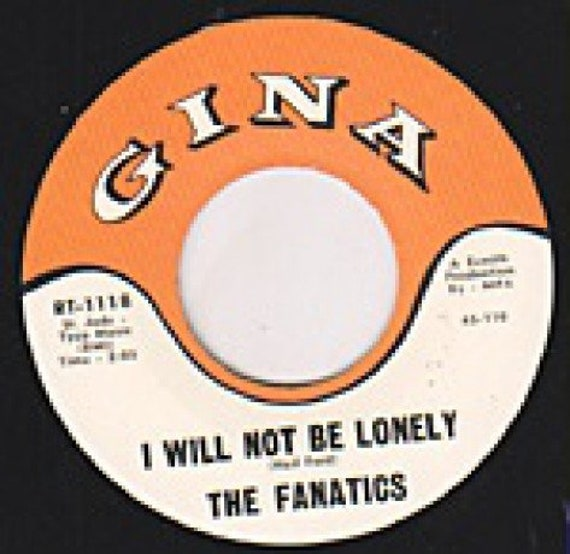 Repro garage punk 6O's - 45t/7' No sleeve- Reasons why- Don't be that way-Fanatics- I will not be lonely