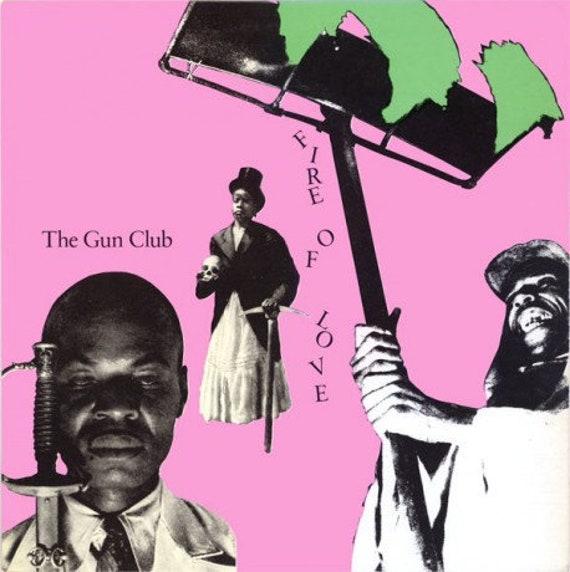 Gun Club- Fire of love LP