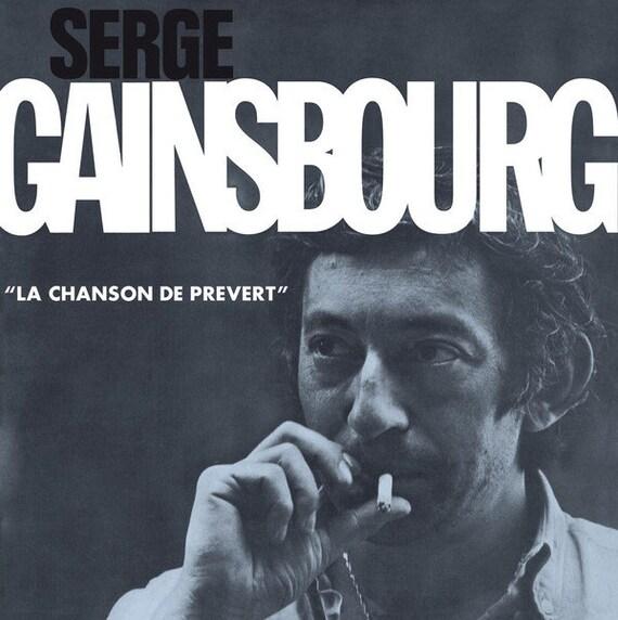 Serge Gainsbourg - La chanson de Prevert - Lp Vinyl neuf réédition 180 Gram