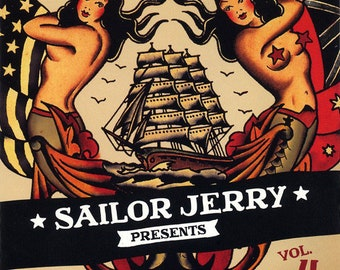 CD promo V/A - Sailor Jerry- Vol 4-USA