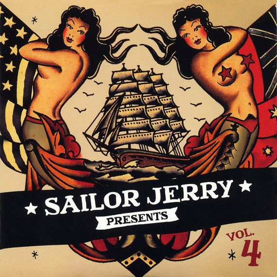 Sailor Jerry- Vol 4-USA CD promo V/A -
