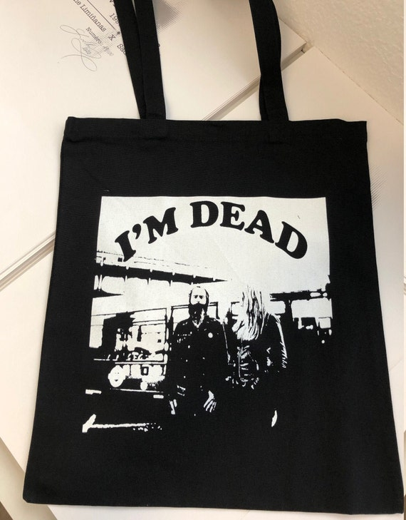 Tote Bag. The Limianas - I'm Dead- Limited