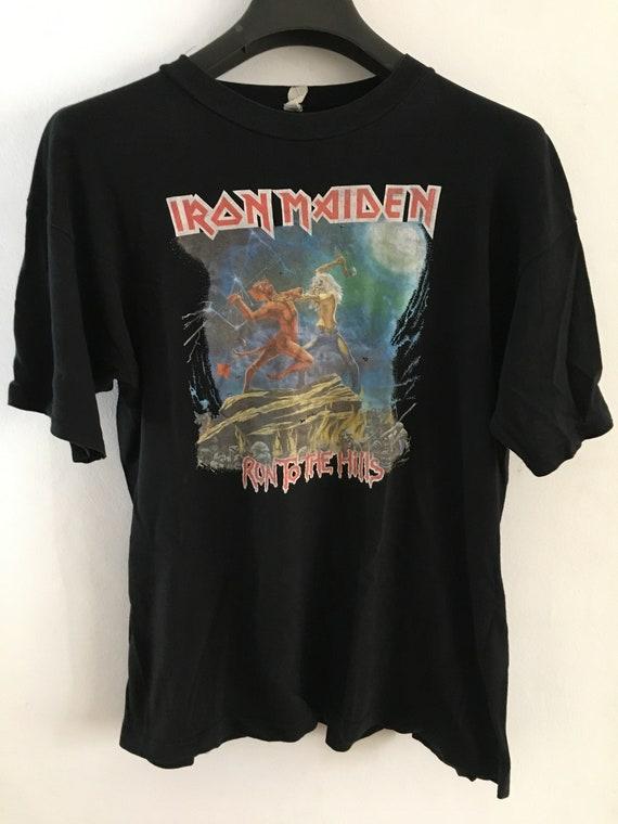 Iron maiden vintage rock t-shirt