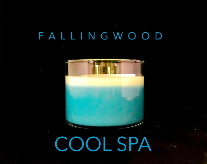 Cool Spa Scented Soy Candle